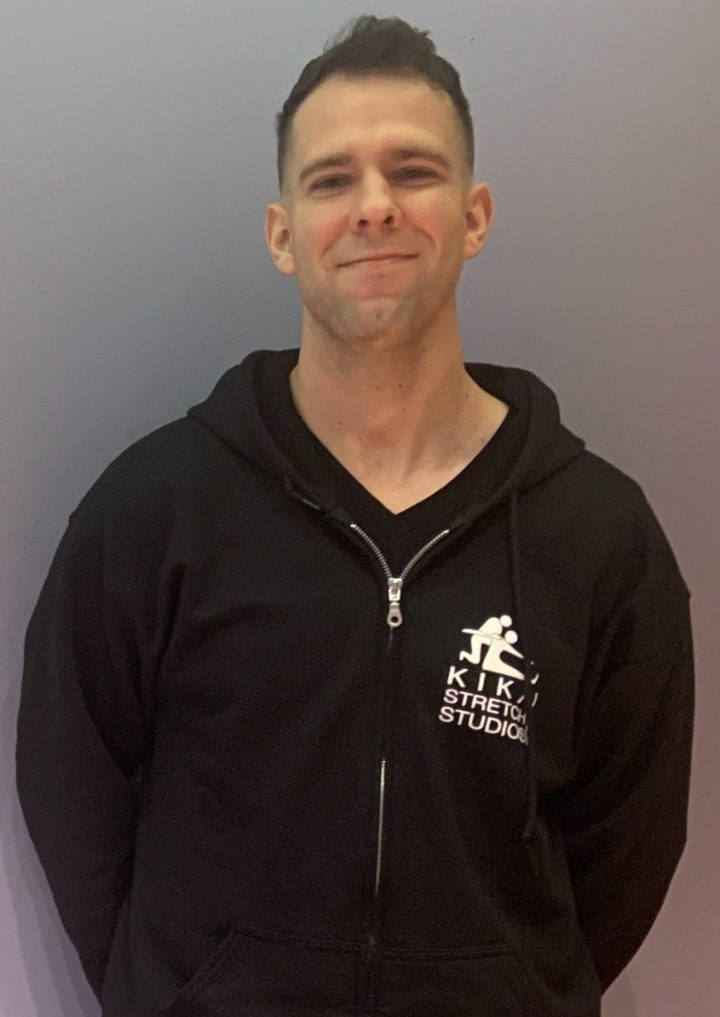 Coach Chris from Short Hills/Summit Kika Stretch Studios